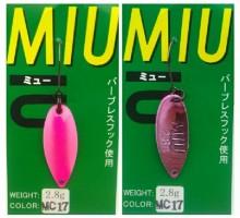 Блесна колеблющаяся Forest Miu 2,8 гр цвет Mc17
